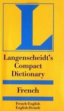 Langenscheidt's Compact French Dictionary: French-English English-French (Langen