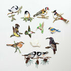 Embroidered Vintage BIRDS Iron Sew On Patch Badge Applique Motif Fashion Twee