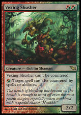 MTG VEXING SHUSHER FOIL EXC - SILENZITORE IRRITATE - PROMO - MAGIC