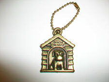 Vintage I'M IN THE DOGHOUSE DOG HOUSE Keychain Key Chain Gumball Machine