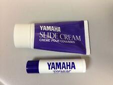 Yamaha Slide Cream and Slide Grease