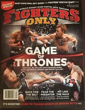 Fighters Only Game Of Thrones Back For The Belt Holiday 2015 FREE SHIPPING!