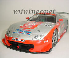AUTOart 80317 2003 TOYOTA SUPRA JGTC #38 AU CERUMO 1/18 MODEL CAR SILVER RED