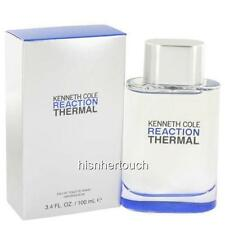 Kenneth Cole REACTION THERMAL 3.4 3.3 oz 100 ml Men Cologne EDT Spray New In Box