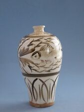 Chinese Antiques Song and Yuan Dynasty Ci Zhou vase
