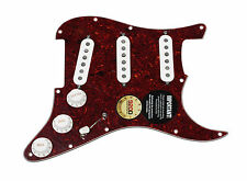 Seymour Duncan SSL-1 Loaded Strat Pickguard Strat TO/WH
