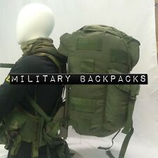 Large Combat Field Pack W New Frame & Straps Alice Rucksack & Load Vest Woodland