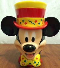 Disney On Ice Ringling Bros Circus Mickey Mouse Ringmaster Plastic Hinge Lid EUC