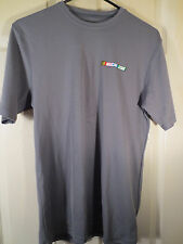 NASCAR.COM Nascar Gray UnderArmour Style Shirt by Zorrel Athlete Size Small