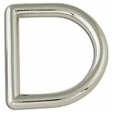 "Solid Steel Dee Rings 1"" 2 Pack 1167-05 by Tandy Leather"