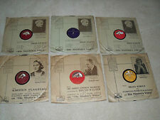 78 RPM RECORDS X 6AIDA, SUITE 3 D MAJOR, IL TROVATORE, CREATIONS HYMN + MORE