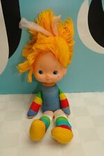 "Rainbow Brite Mini Doll Vintage 11"" Missing Dress"
