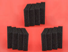 12 Carbon Sponge Filter Pads to fit JUWEL COMPACT Bioflow 3.0  bioCarb M media