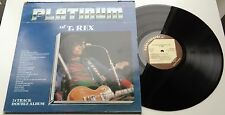 KLP183 - T. Rex - The Platinum Collection (PLAT 1002) UK 2LP, cube records 1981