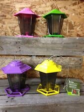 Gardman Funky Gazebo Seed Feeder For Wild Birds - Comes in Assorted Colors