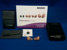AGXO  H110 2 IC  IN  CANAL  RIGHT AND LEFT HEARING AIDS NEW