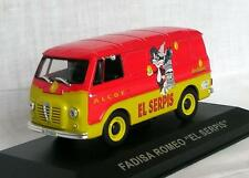 "Alfa Romeo Fadisa Romeo 2, Trade Van ""El Serpis"" 1964, IXO Altaya  1/43  Diecast"