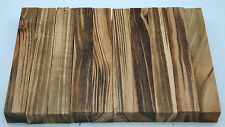 "10 Goncalo Alves Pen Blanks ¾""x ¾""x5"" Exotic Wood Lumber Free Shipping G-1"