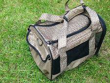 """STYLISH DOG PET CARRIER TOTE BAG 12.5 x 10 x 9.5"""""""