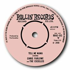 "CHRIS FARLOWE & THE EXCELLOS - ""TELL ME MAMA"" WILD ROCKIN' BLUES 45 - LISTEN!!"