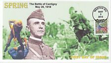 JVC CACHETS - 2013 FLAG FOR ALL SEASONS SSPRING WORLD WAR I FIRST DAY COVER FDC