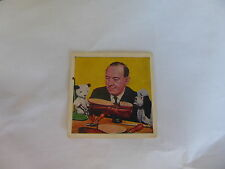BUBBLEGUM SWEET CIGARETTE CARDS SOOTY'S NEW ADVENTURES No 45 COMO CONFECTIONERY