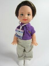 RARE 1999 Barbie Kelly Rare Tommy Traveler Doll with Name Tag!  HTF