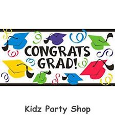 Festa DI LAUREA-lunghi 5ft in plastica Grad Banner-gratis in UK