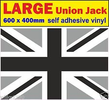 B&W 1 exter Large union jack decal stickers adhesive vinyl jdm Drift vw car van