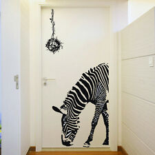Vinyl Art Removable Animal Zebra Wall Sticker Home Room Decor DIY Decal US