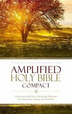 Amplified Holy Bible, Compact : Captures the Full Meaning Behind the Original...