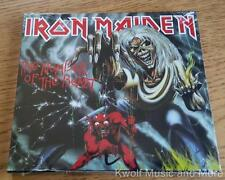 "IRON MAIDEN  ""The Number Of The Beast"" Enhanced W/Videos    NEW   (CD)"