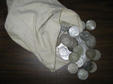100 PRE 1921 MORGAN SILVER DOLLARS IN VF - AU CULL CONDITION U.S. DOLLARS