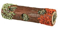 New - Tube Tunnel with Hay Filling 20cm Rodent Rabbit Play Toy Pets Food 60770