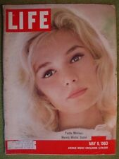 LIFE MAGAZINE MAY 9 1960 YVETTE MIMIEUX CHESSMAN ART CARNEY NASA MERCURY DITCH