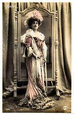 A4 Vintage Victorian/Edwardian Actresses & Beauties Art Nouveau Print 04