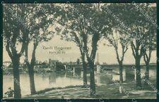 Alessandria Casale Monferrato PIEGA cartolina XB0736