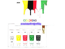 B&Soap Halloween Makeup Coloring Paints Pack Wash Off Mask 5 Colors New 25g*5