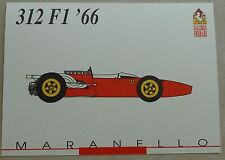 Ferrari Galleria 1992 312 F1 1966 Card Karte brochure prospekt book buch press