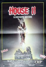 HOUSE II : THE SECOND STORY - SKULL - ORIGINAL SMALLL FRENCH MOVIE POSTER