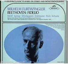 Beethoven: Fidelio / Furtwangler, Mödl, Windgassen, Frick - LP Vinyl Seraphim