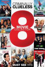 Criminally Clueless- 8 Movie Collection, Good DVD, Sylvester Stallone, Tim Allen
