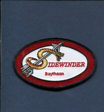 AIM-9 SIDEWINDER USAF US NAVY USMC Fighter Squadron Weapons Patch 2