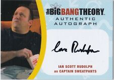 THE BIG BANG THEORY SEASONS  6 & 7 ISR2 IAN SCOTT RUDOLPH SWEATPANTS AUTOGRAPH