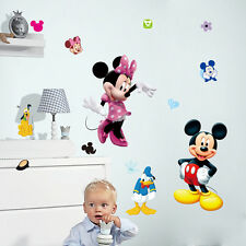 Mickey Mouse Donald Duck Baby Nursery Bedroom Wall Sticker Decal Mural Wallpaper