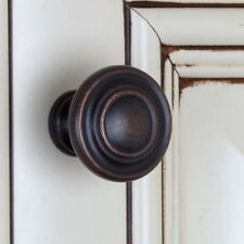 Bronze Cabinet Knobs Hardware Pulls Rubbed Door Kitchen Drawer Bathroom Pack 25