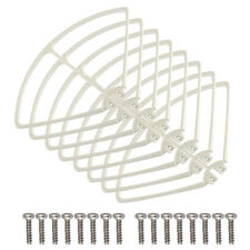8PCS Protection Frame Propeller Protector Guard for SYMA X8C X8W Drone White