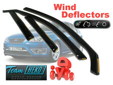 Ford Focus MK2 2004-2011 Hatchback, Saloon Wind Deflectors 4 pcs HEKO (15226)