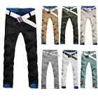 Top Quality Men Pants Slim Fit Modern Style Casual Trousers Colorful Size 29-34