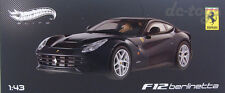 Hot wheels Elite Ferrari F12 berlinetta 1:43 Black X5501